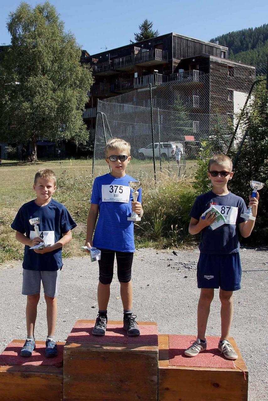 8ème_Trail_de_Dormillouse_18_août_2019_podium_kid's_1